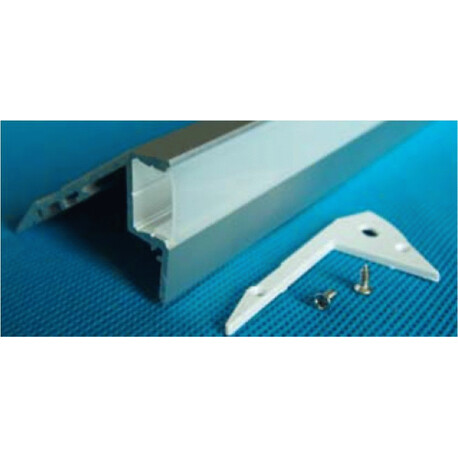 End cap for LED profile E003