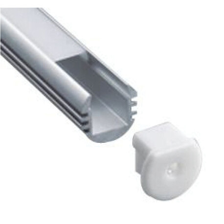 End cap for LED profile G002
