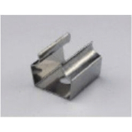 LED profile A122 fixing clip, metal