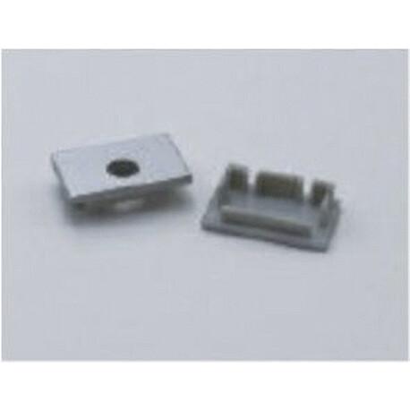 End cap for LED profile C013