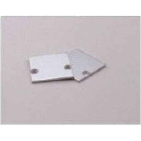 End cap for LED profile C014