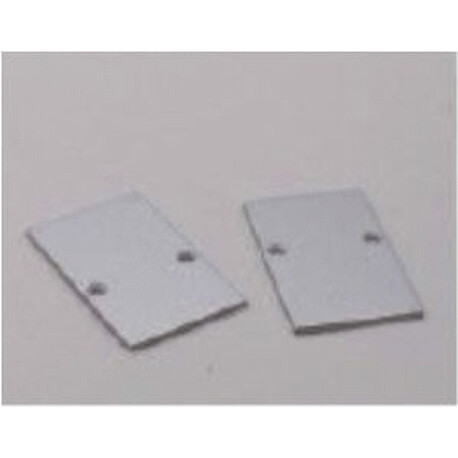 End cap for LED profile C022