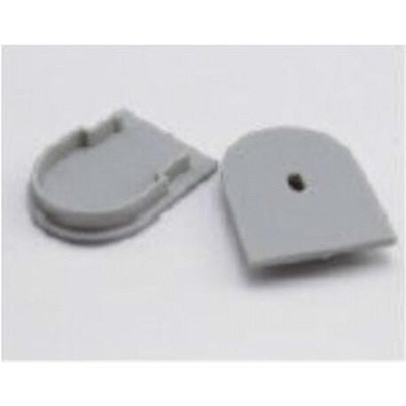 End cap for LED profile C030