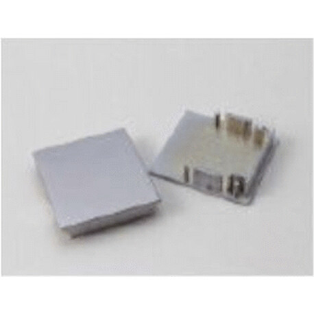 End cap for LED profile C034