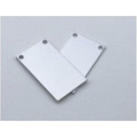 End cap for LED profile C046