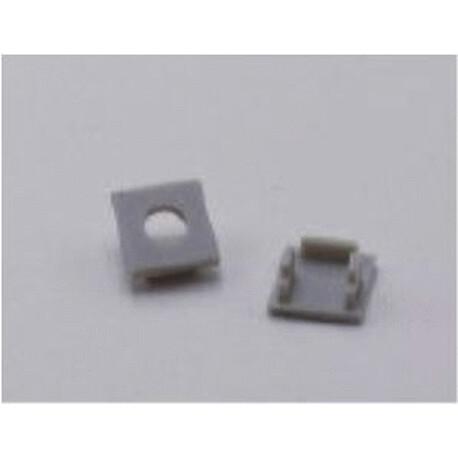 End cap for LED profile F014