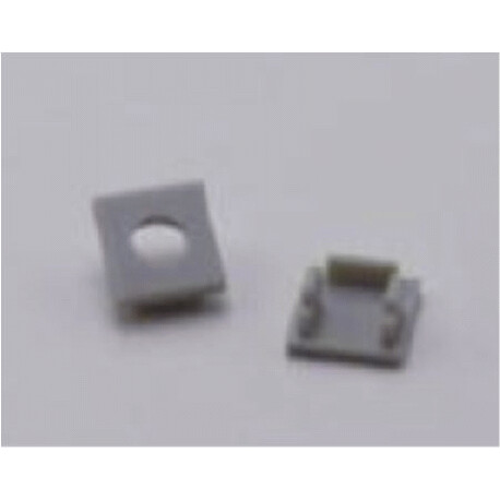 End cap for LED profile F019