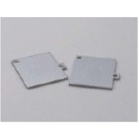 End cap for LED profile F022
