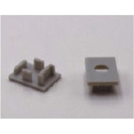 End cap for LED profile F025