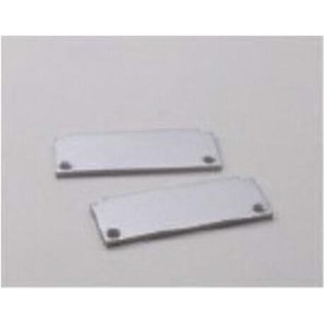 End cap for LED profile F042