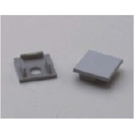 End cap for LED profile F056