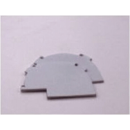 End cap for LED profile F064