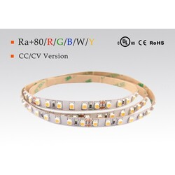LED strip warm white, 3000 °K, 12 V, 4.8 W/m, IP20, 3528, 350 lm/m, CRI 80