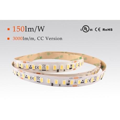LED riba soe valge, 3000 °K, 24 V, 22 W/m, IP20, 5630, 3700 lm/m, CRI 80