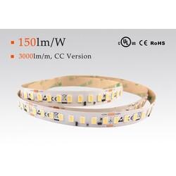 LED strip warm white, 3000 °K, 24 V, 22 W/m, IP67, 5630, 3700 lm/m, CRI 80