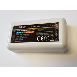 Receiver, RGB+CCT, RF, 5×6A(Max 10A), FUT039