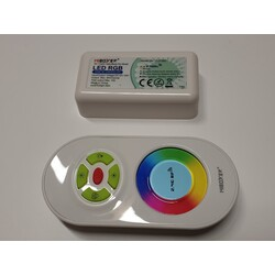 Remote, receiver, RGB, 3×6A(Max 10A), RF, FUT020