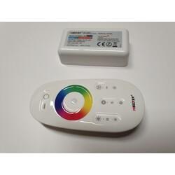 Remote, receiver, RGB, 3×6A(Max 10A), RF, FUT025