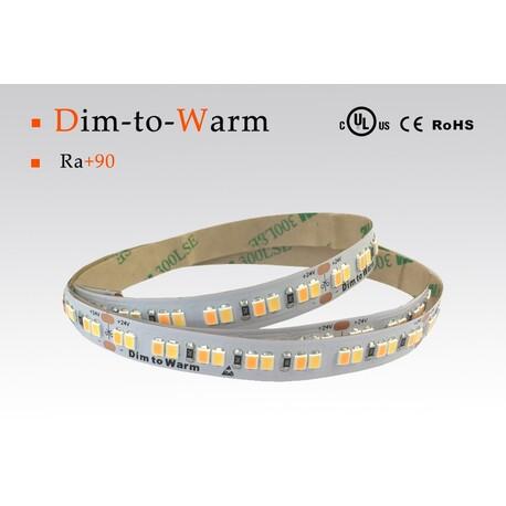 LED riba DTW, 1800-3000 °K, 24 V, 10 W/m, IP20, 2216