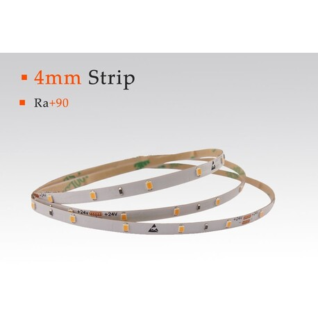 LED strip warm white, 3000 °K, 12 V, 4.8 W/m, IP20, 2216, 370 lm/m, CRI 90