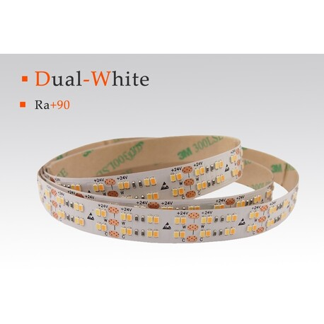 LED strip CCT, 2700-6000 °K, 12 V, 19.2 W/m, IP67, 2216