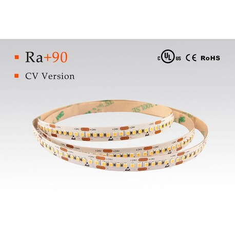 LED strip warm white, 3000 °K, 24 V, 4.8 W/m, IP67, 2216, 370 lm/m, CRI 90